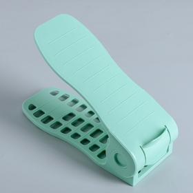 Подставка для хранения обуви, 27×10,5×8 см, цвет МИКС