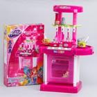 """Игровой набор """"Модная кухня"""" в чемоданчике, с аксессуарами, свет, звук, высота 65, 5см, WINX"""