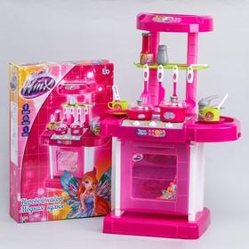 """Игровой набор """"Модная кухня"""", феи ВИНКС, в чемоданчике, с аксессуарами, световые и звуковые эффекты, работает от батареек, высота 65,5 см"""