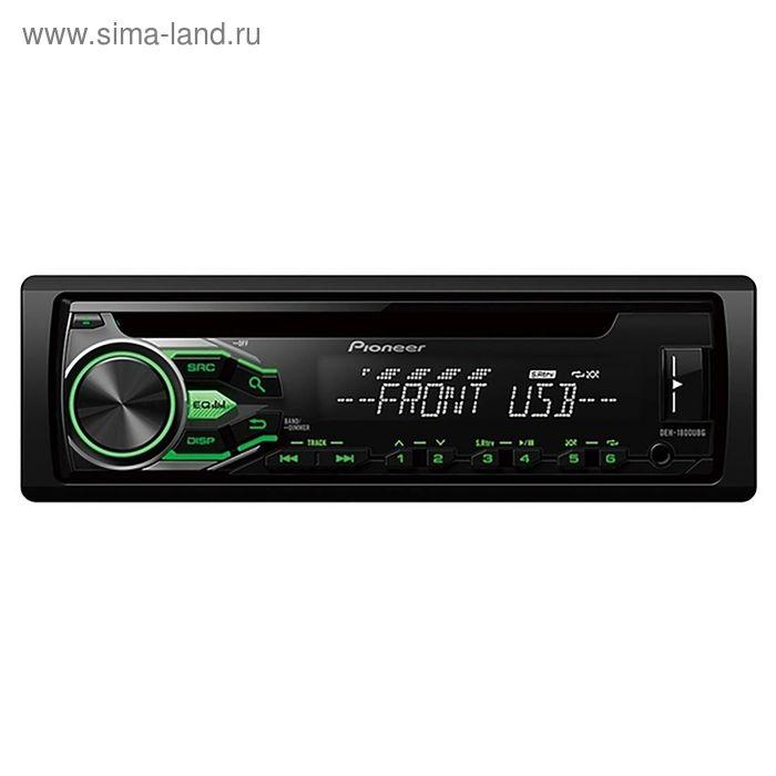 Автомагнитола CD Pioneer DEH-1800UBG 1DIN 4x50Вт