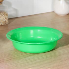 Тарелка ПластоС, 1 л, цвет МИКС