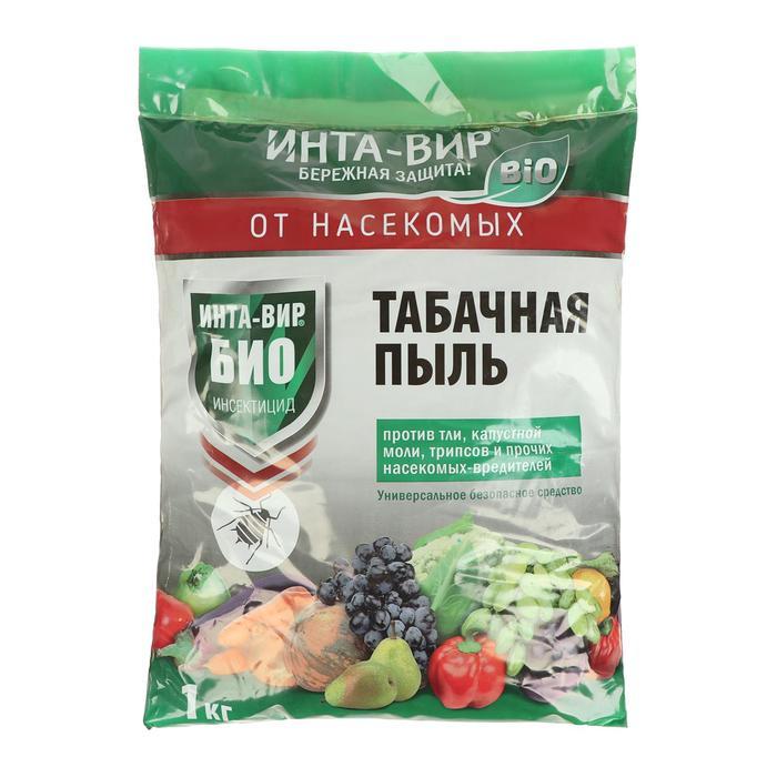 Средство биологическое для борьбы с вредителями Инта Вир, Табачная пыль, 3 л