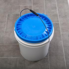Ведро с герметичной крышкой ПластоС, 20 л, цвет белый - фото 4645088