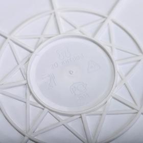 Ведро с герметичной крышкой ПластоС, 20 л, цвет белый - фото 4645090