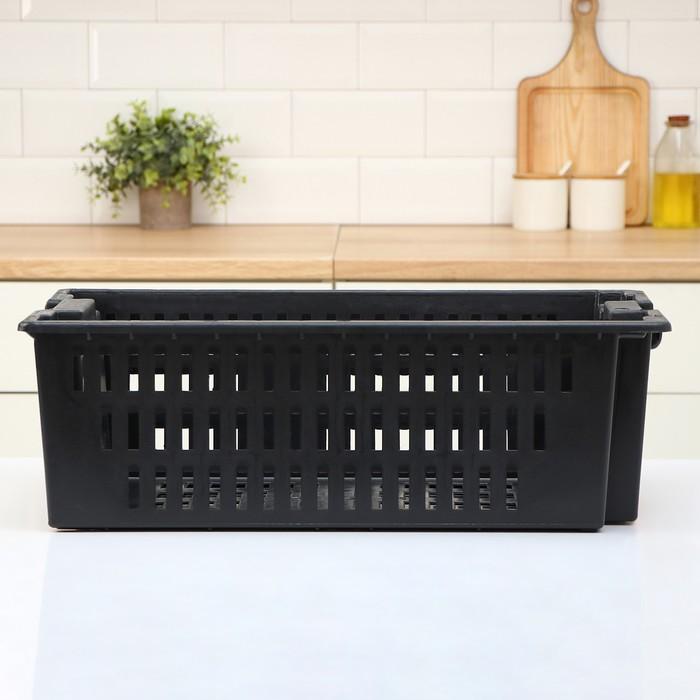 Ящик овощной 60×40×20 см, цвет МИКС