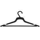Вешалка-плечики для лёгкого платья, размер 48-50, цвет чёрный
