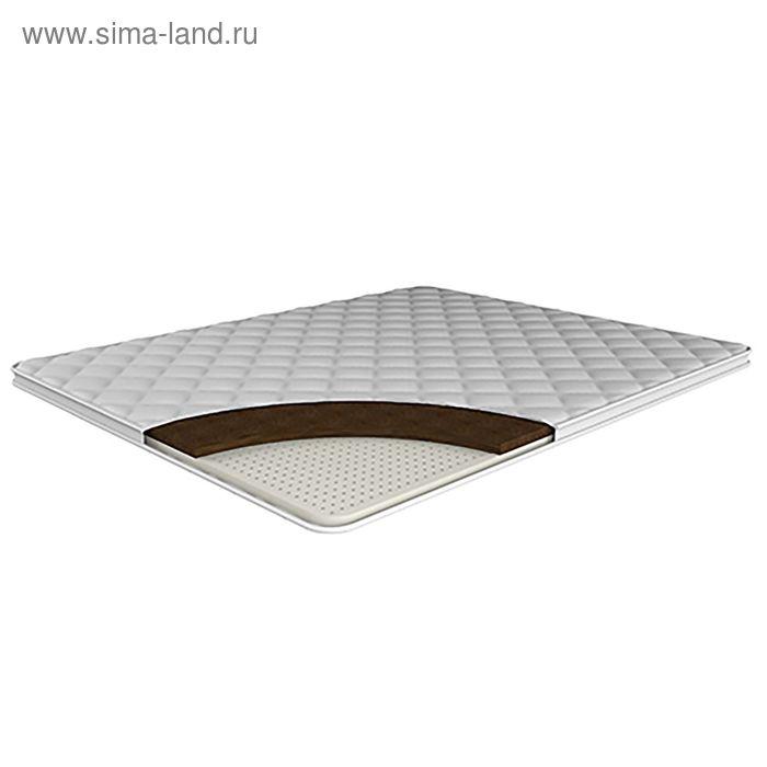 """Наматрасник """"Кокос+латекс"""", размер 160х195 см, высота 4 см"""