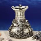"""Декорация для аквариума """"Одна башня"""", 10 х 12 х 12 см, микс - фото 7329105"""