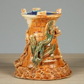 """Декорация для аквариума """"Одна башня"""", 10 х 12 х 12 см, микс - фото 7329108"""