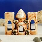 """Декорации для аквариума """"Три башни"""" светло-коричневые, микс"""