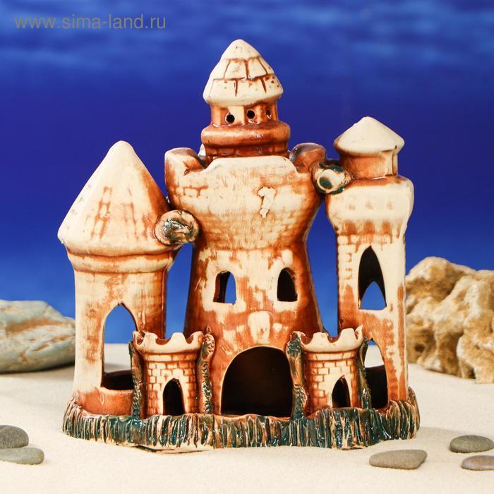 """Декорации для аквариума """"Множество башень"""""""