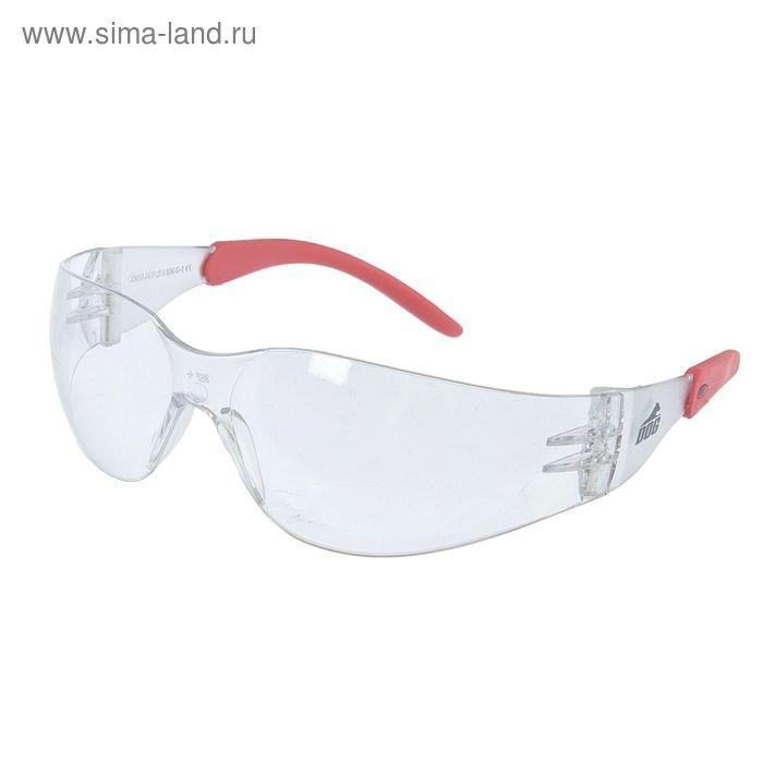 Очки защитные открытые DOG Racing прозрачные