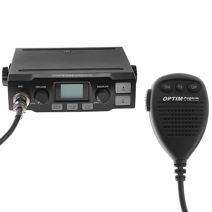 Радиостанция OPTIM-PILGRIM, СВ 26965-27410 кГц, 12 В, 4 Вт, 40 каналов