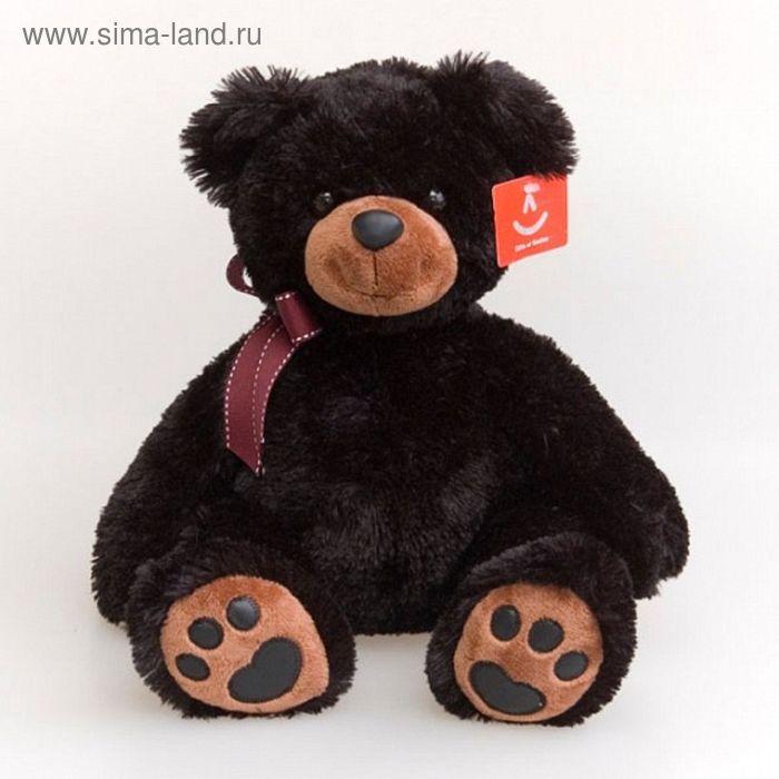 """Мягкая игрушка """"Медведь"""", цвет чёрный"""