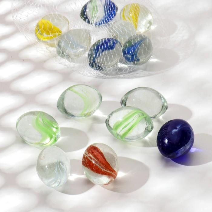 """Камень для декора """"Цветные разводы"""" 250 гр - фото 699537"""
