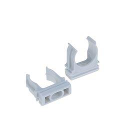 Крепеж-клипса для трубы TDM, d=20 мм, 1 шт