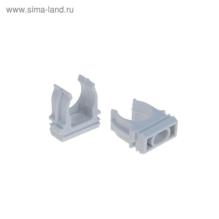 Крепеж-клипса для трубы TDM, d=16 мм,  SQ0405-1001 (цена за 1шт.)