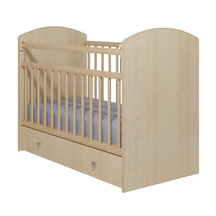 Кровать детская «Колибри-Классик 5», цвет клён