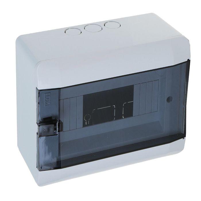 Щит TDM ЩРН-Пм-8 модулей, IP41, навесной, пластик, SQ0901-0103