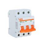 Выключатель автоматический TDM ВА47-29, 3п, 25 А, 4.5 кА, SQ0206-0111