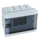 Щит TDM ЩРВ-Пм-6 модулей, встраиваемый, пластик, IP41, SQ0902-0102