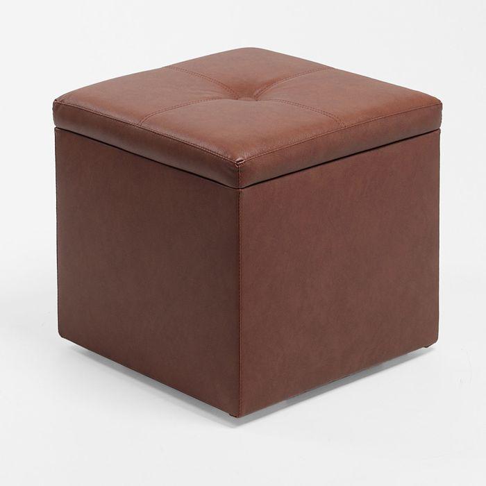 Банкетка КУБА 420*420*420, коричневый