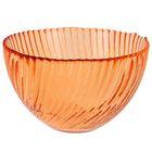 """Салатник d=12 см """"Альтера"""", 350 мл, цвет прозрачный оранжевый"""