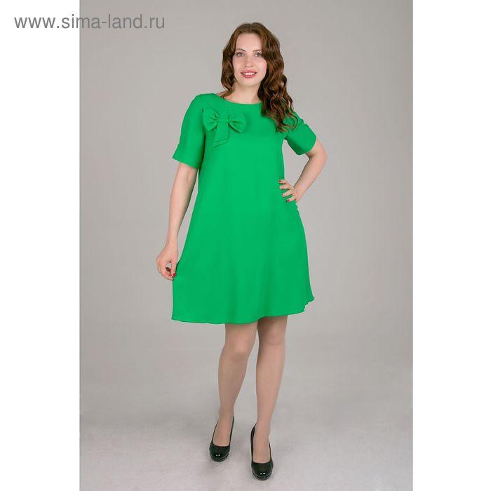 Платье женское, размер 44, рост 168, цвет зеленый (арт. 15203)