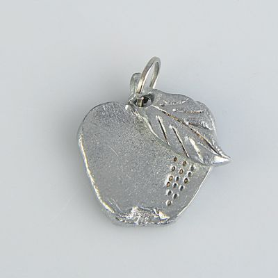 "Pendant-amulet ""Green Apple"""