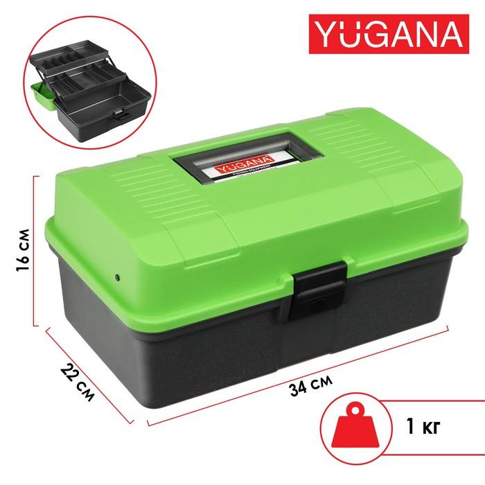 Ящик Helios двухполочный, цвет зеленый