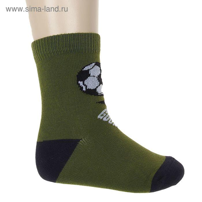 """Носки """"Мячик"""", размер 20-22, цвет зелёный 002/9"""