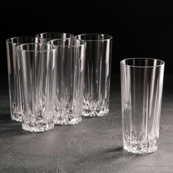 """Набор стаканов высоких 330 мл """"Карат"""", 6 шт"""