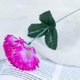 Цветок искусственный 'Сиреневая гвоздика' Ош