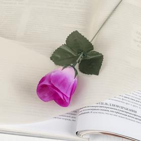 Цветок искусственный 'Роза' сиреневая Ош
