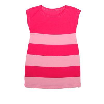 Платье для девочки, рост 86-92 см (52), цвет фуксия/розовый (арт. Д 0196)