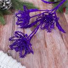 """Ветка для декора """"Фиолетовый идиллиум"""""""
