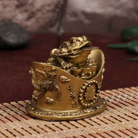 Box bronze netsuke