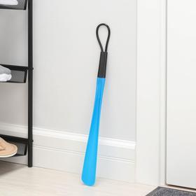 Ложка для обуви 48×4,5 см, цвет МИКС Ош