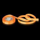 Лента репсовая, 15мм, 22±1м, №23, цвет оранжевый