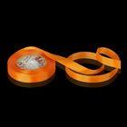 Лента репсовая, 15мм, 22±1м, №24, цвет оранжевый