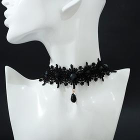 Chalker Alexandria lace, drop, black
