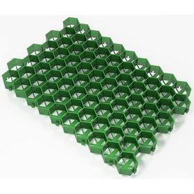 Решетка газонная 55 х 32,5 х3,2 см, зеленый Ош