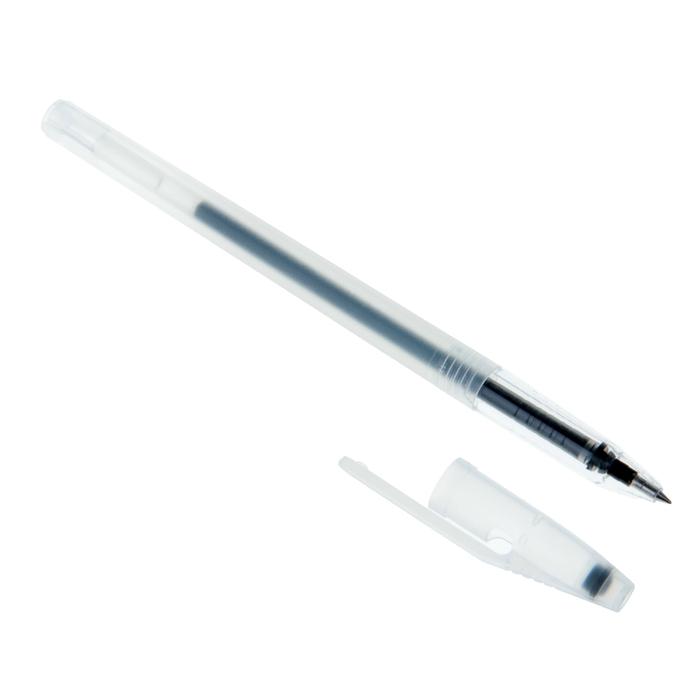 Ручка гелевая Status чёрая паста РГ 133-02