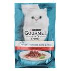Влажный корм GOURMET PERLE для кошек, говядина, пауч, 85 г