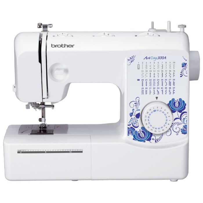 Швейная машина Brother ArtCity 300A, 37 операций, обметочная, потайная, эластичная строчк