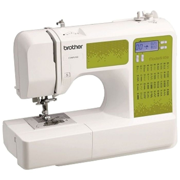 Швейная машина Brother ModerN 40E, 40 операций, обметочная, потайная, эластичная строчка