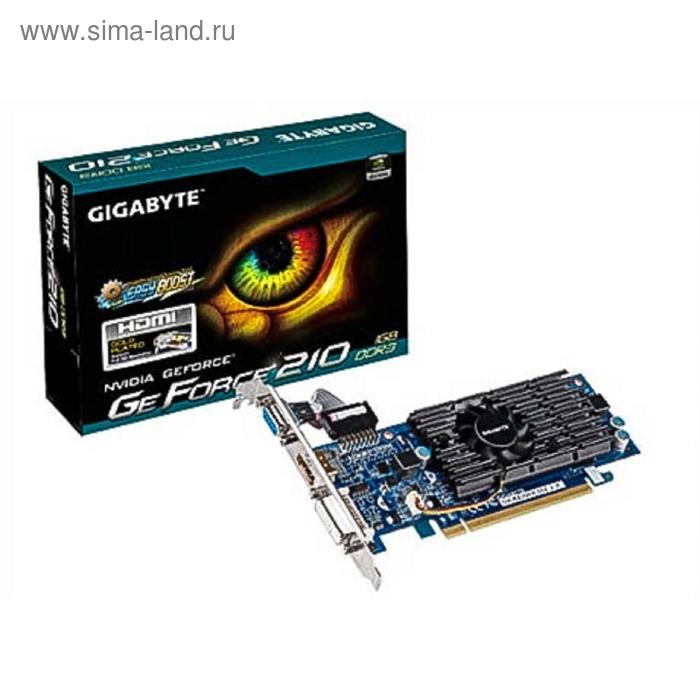 Видеокарта Gigabyte nVidia GeForce 210 1024Mb 64bit DDR3