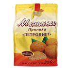 """Пряники """"Петродиет"""" мятные на фруктозе, пачка 350 гр"""