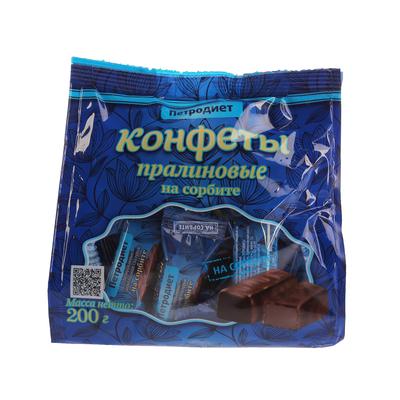"""Конфеты """"Петродиет"""" на сорбите, пачка 200 г"""