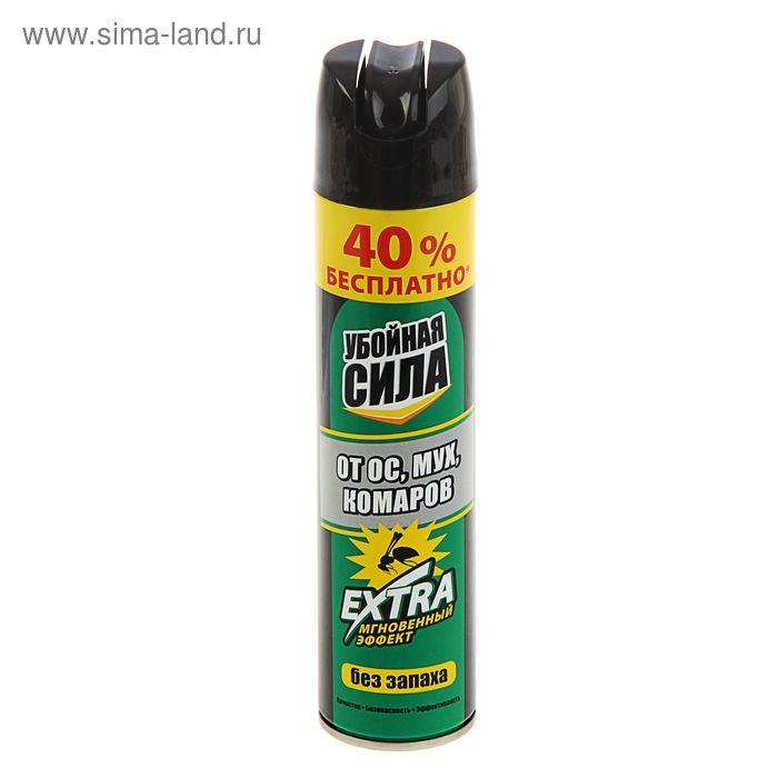 Средство от насекомых Убойная сила Extra, 200мл+40%